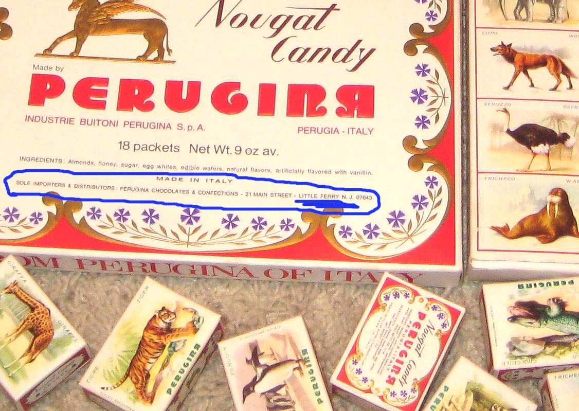 Perugina animal candy boxes - your thoughts